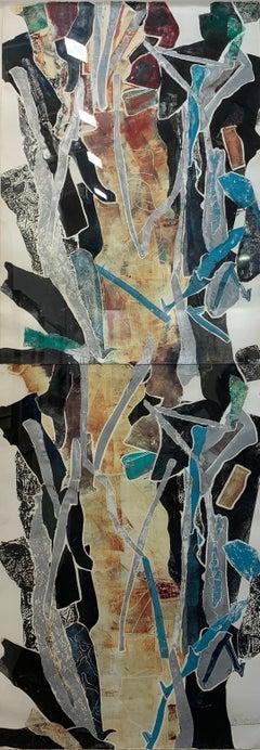 Work - Abstract Expressionist, Monotype, Screenprint, John Chamberlain