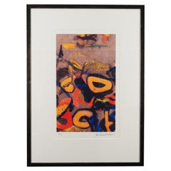 "John Chamberlain - ""Bozo"", 1990, Silkscreen, Framed"