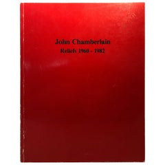 John Chamberlain Catalog with Artist's Inscription