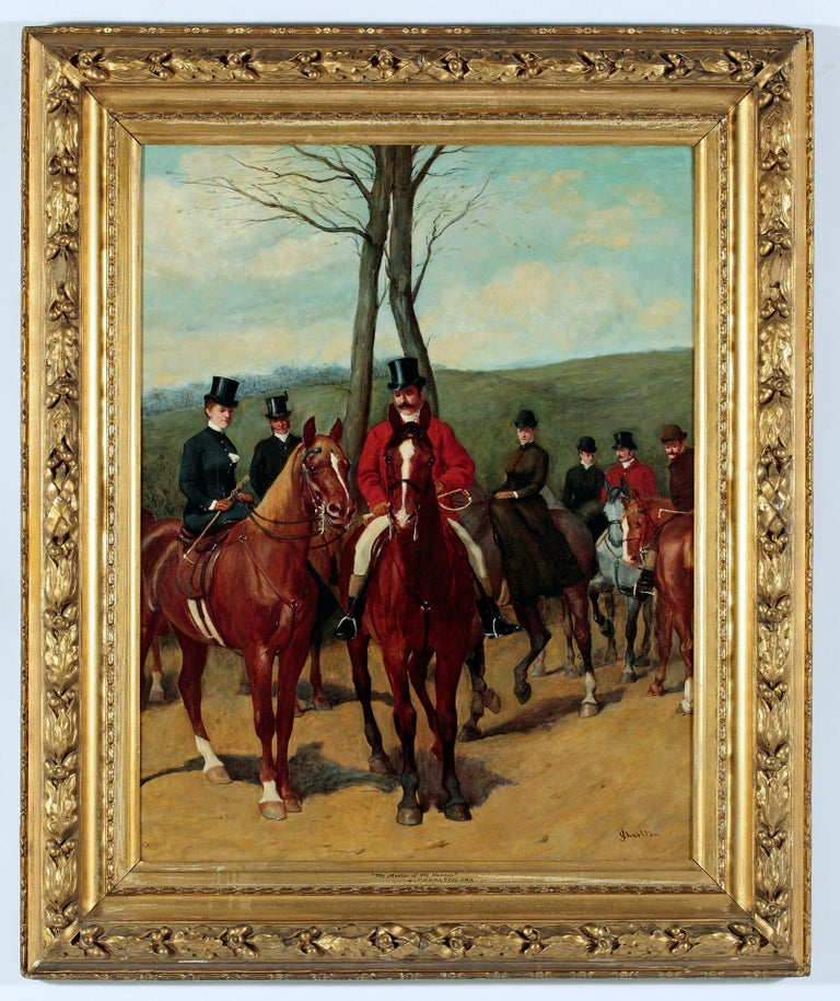 The Master of the Hounds - Painting by John Charlton