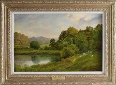 A Lake on a Surrey Weald