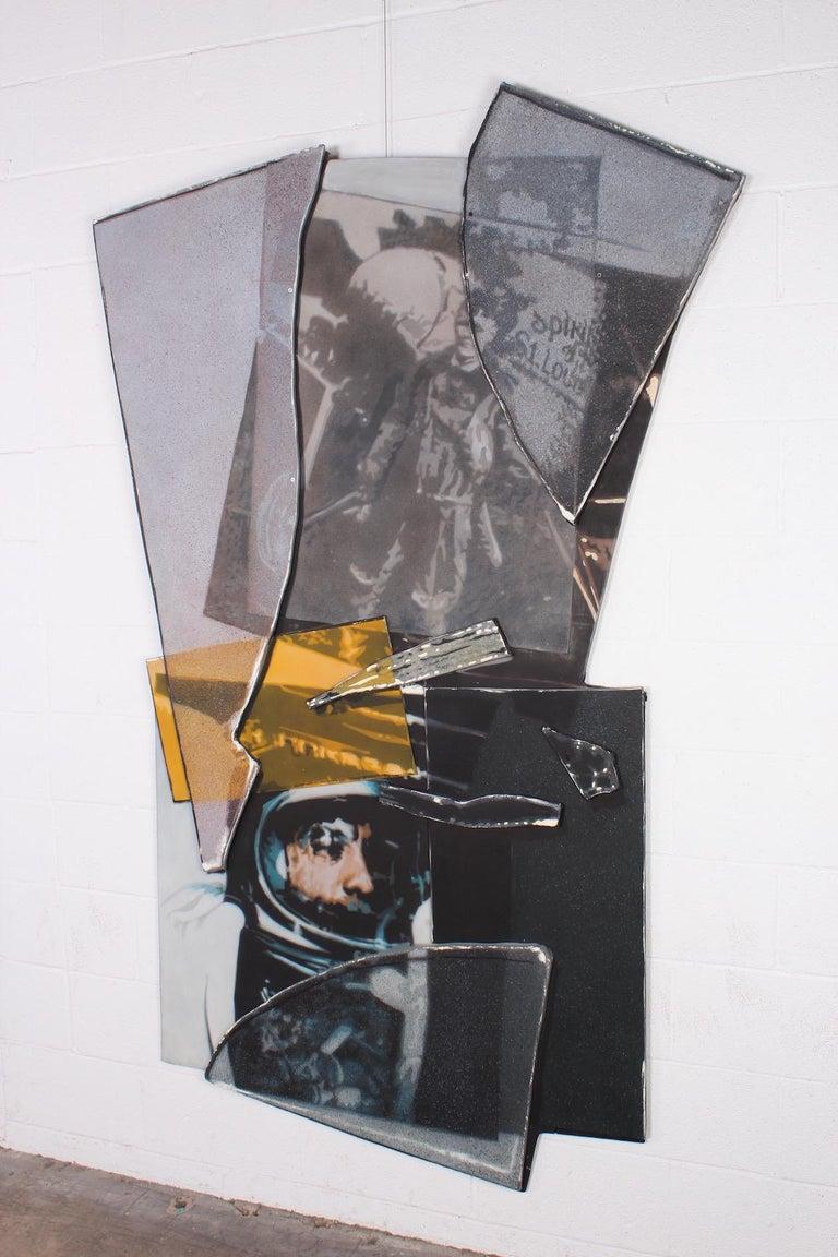 John Clem Clarke T-Series F.A.I (Aviation), 1980 Oil on canvas laid on board.