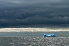 Antarctica #105, Iceberg, Limited Edition Photograph, Blues, Water, unframed