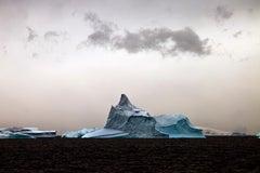 Antarctica #118, Iceberg, Limited Edition Photograph, Blue, Gray, unframed