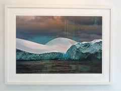 Antarctica #121, Iceberg, Limited Edition, Photograph, Blue, Travel, framed