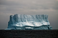 Antarctica #26, Iceberg, Limited Edition Photograph, Blue, Travel, unframed