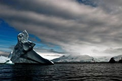 Antarctica 29, Iceberg, Photograph, Blue, Sea, unframed, home office, Travel
