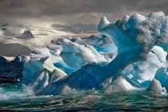 Antarctica #33, Iceberg, Limited Edition Photograph, Blue, Travel, unframed