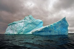 Antarctica 98, Color Photograph,  Icebergs, Travel, Framed, Limited Edition