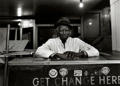 Subway 12, Black & White, Limited Edition Photograph, NYC, 1980, Unframed