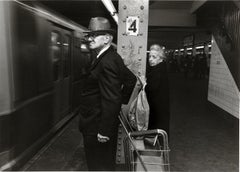 Subway 31 Black & White, Limited Edition Photograph, NYC, 1980, Unframed