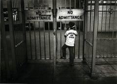 Subway 34, Black & White, Limited Edition Photograph, NYC, 1981, Unframed, Kid
