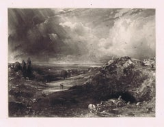 A Heath (Hampstead Heath, Stormy Noon - Sand Diggers)'