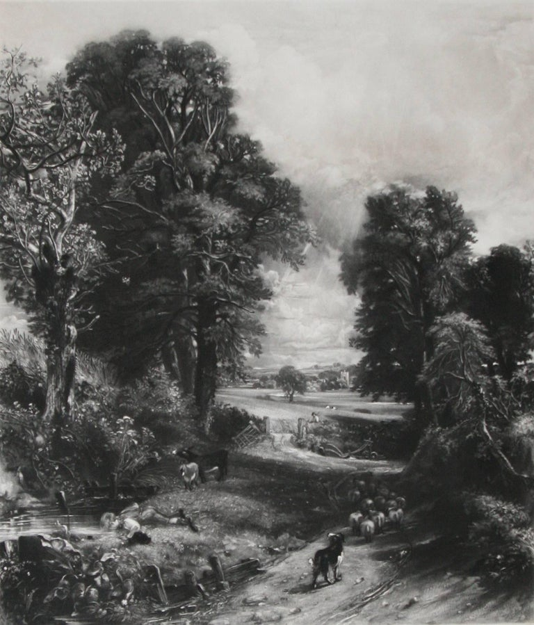 The Cornfield  - Print by John Constable