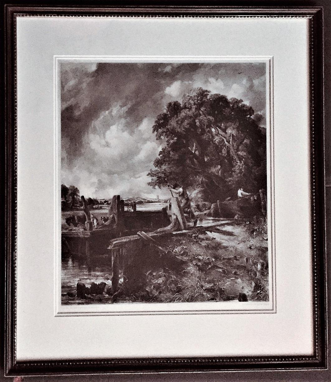 """1939 Vintage /""""THE CORNFIELD/"""" by JOHN CONSTABLE LOVELY Color Art Plate Lithograph"""