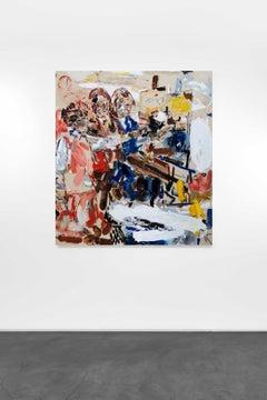 Omnivore, 2020-21 - John Copeland (Abstract, Figurative Paintings)
