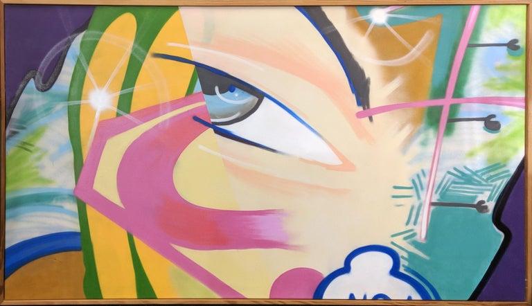 SUPER, JUST SUPER - Street Art Mixed Media Art by John Crash Matos