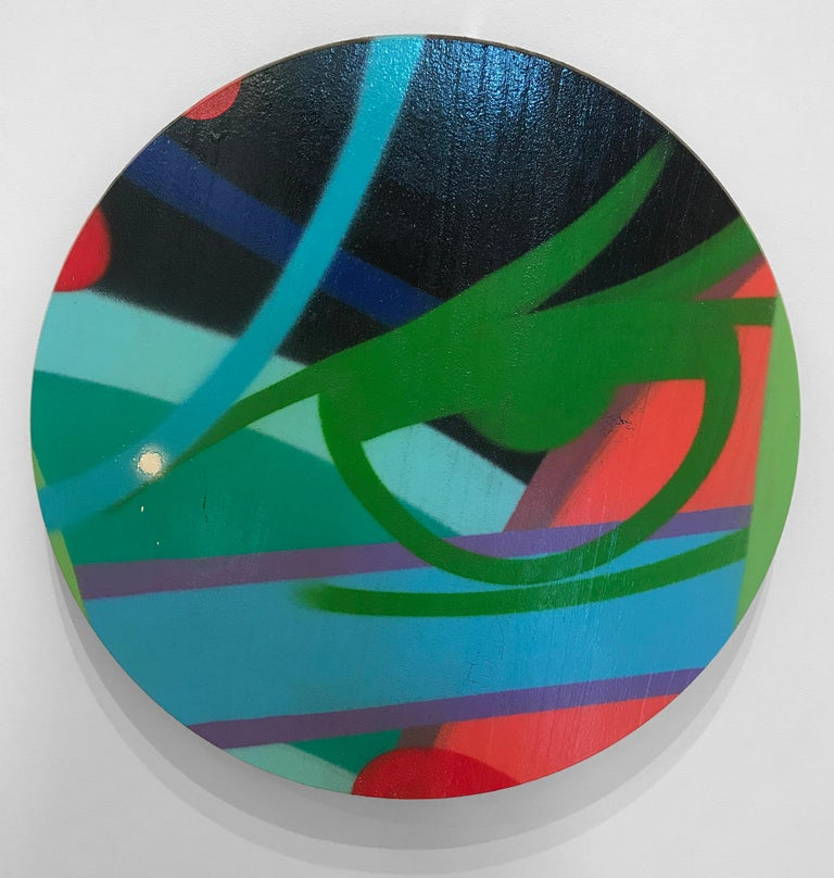 John Crash Matos Abstract Painting - Untitled 6, John CRASH Matos, Spray Paint, Graffiti/Street Art (Figurative)