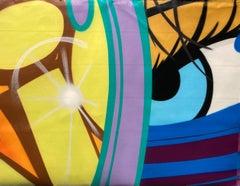 "Untitled II, 2021, John ""CRASH"" Matos, Spray Paint on Canvas-Figurative"