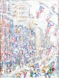 """""""Flags on Fifth Avenue"""""""
