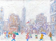 """""""Wintry Day, Madison Square"""""""