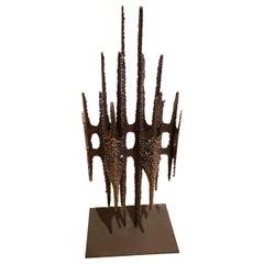 John De La Rosa Brutalist Sculpture