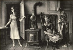 For the Love of Barbara Allen (Young girl enters room with two women by stove)