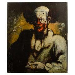 "John Decker 'German, 1895-1947' ""Clown with Watch"""
