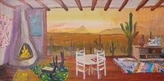 Evening Shower Saguaro NP