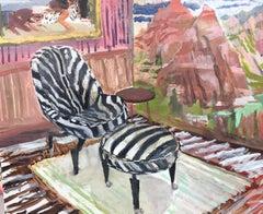 McKenzie Hera's Zebra Chair