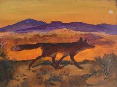 Rio Grande Sunset Fox