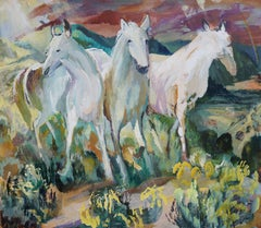 Three White Horses When You Go That Way