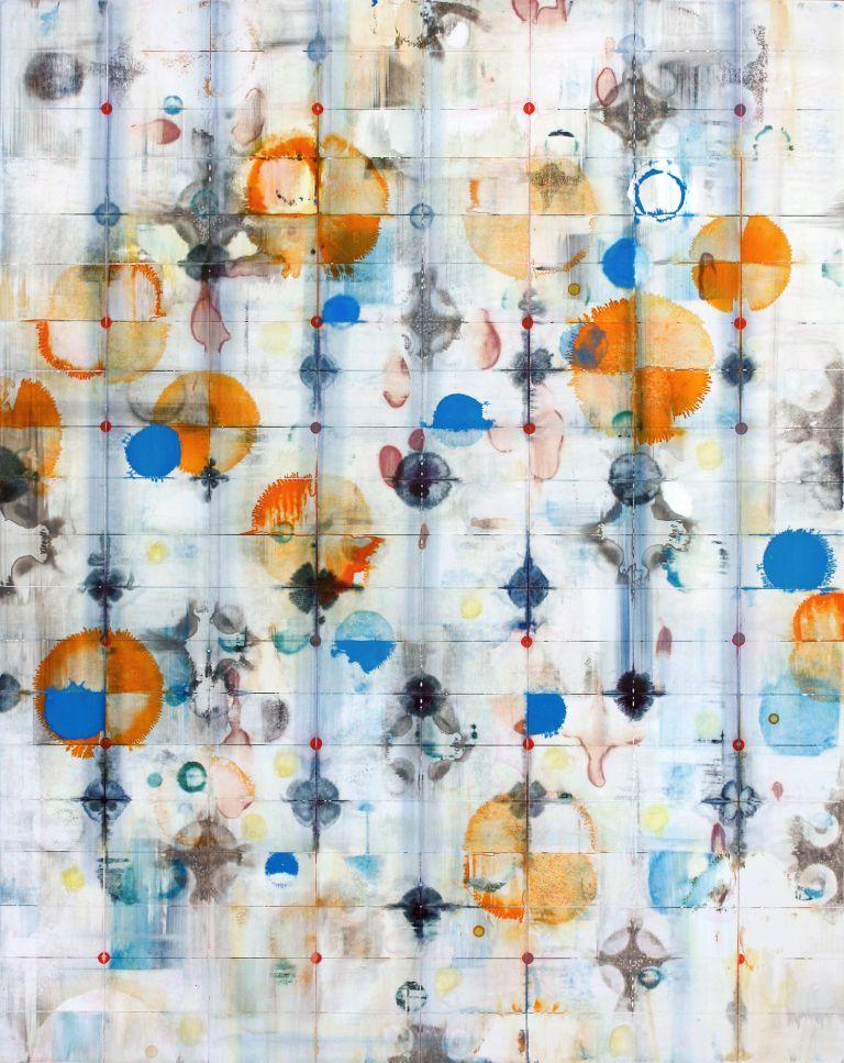 John Dempcy Abstract Painting - Rise and Fall