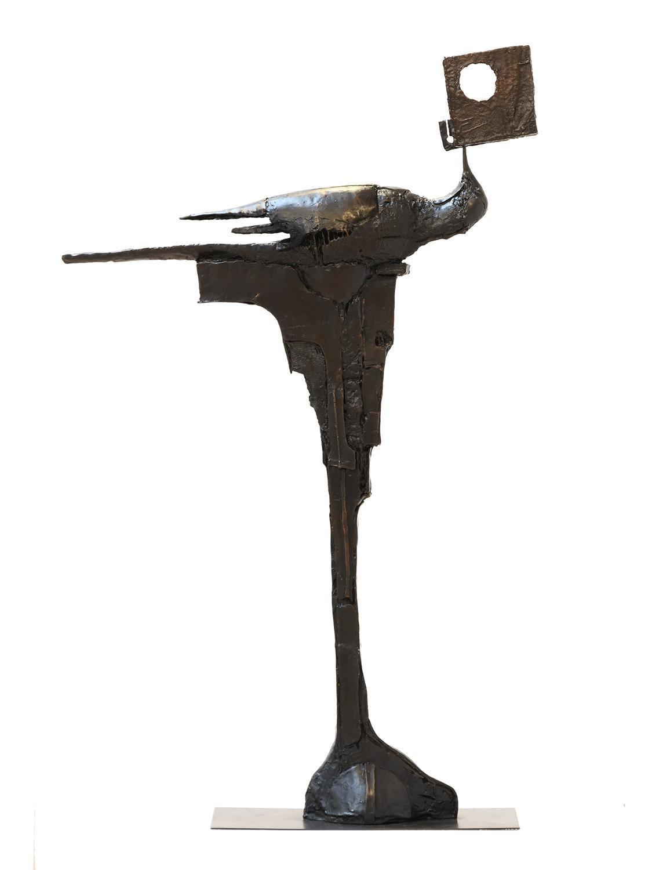 Philosopher bronze sculpture
