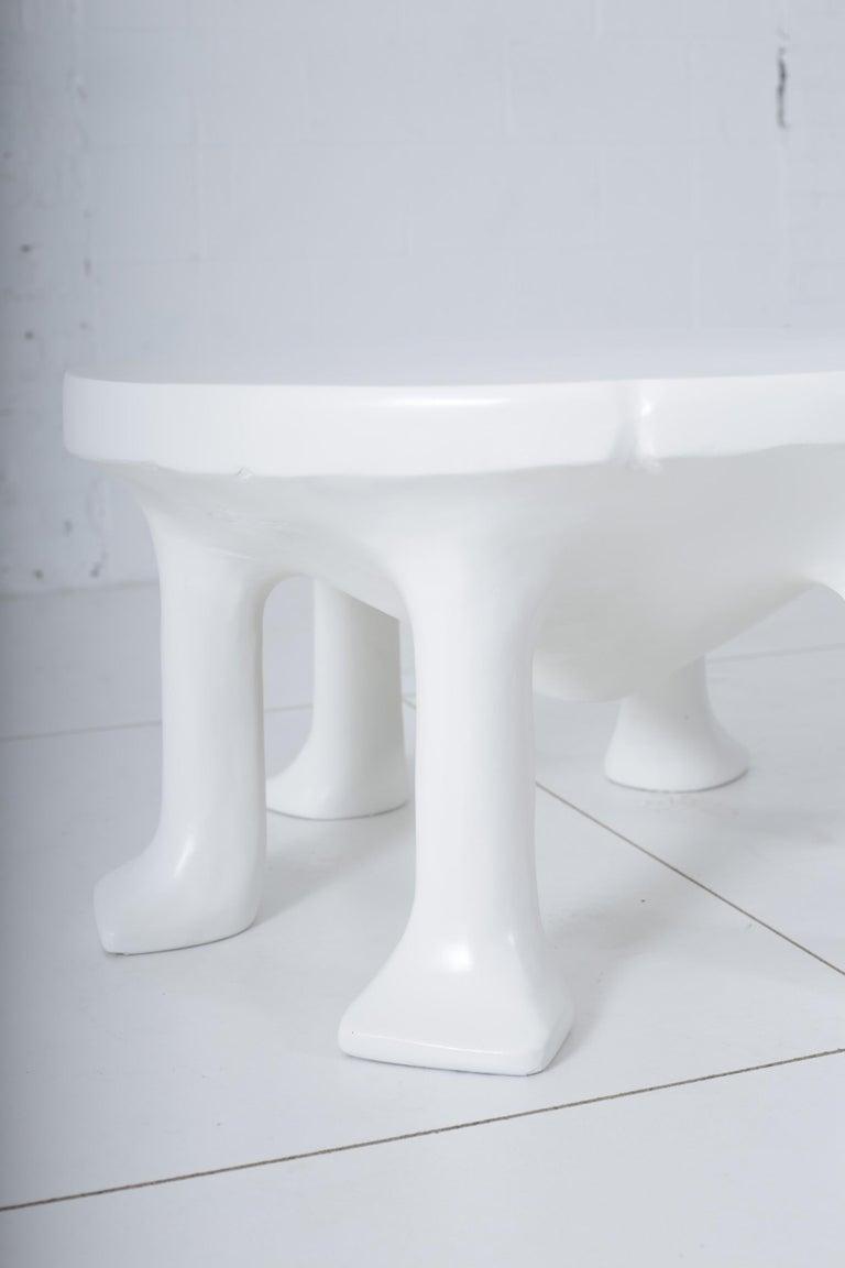 Contemporary John Dickinson African Leg Table For Sale