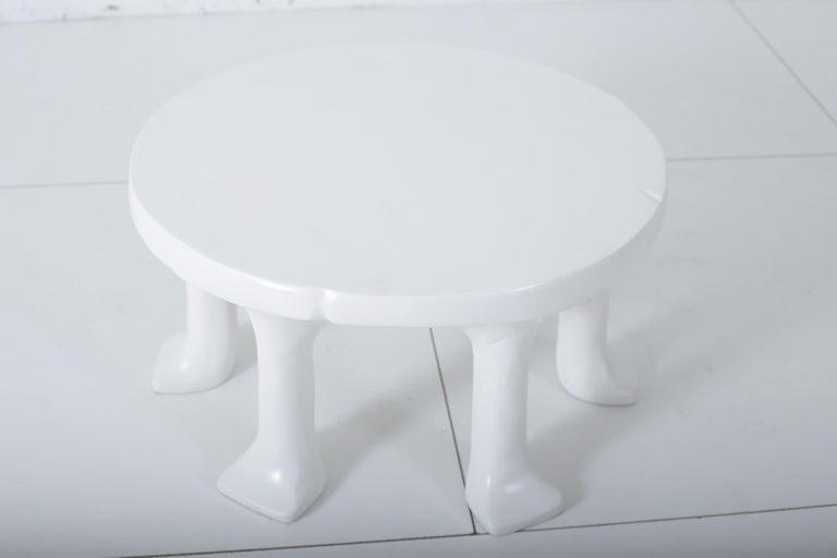Concrete John Dickinson African Leg Table For Sale