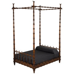 John Dickinson King Size Four-Poster Bed from the Firehouse