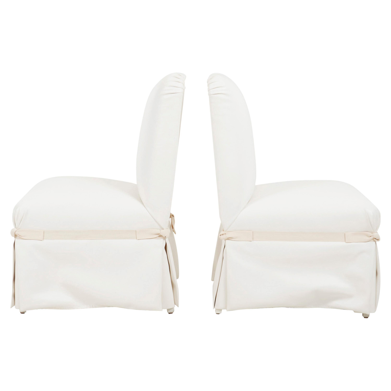 John Dickinson Lounge Chairs