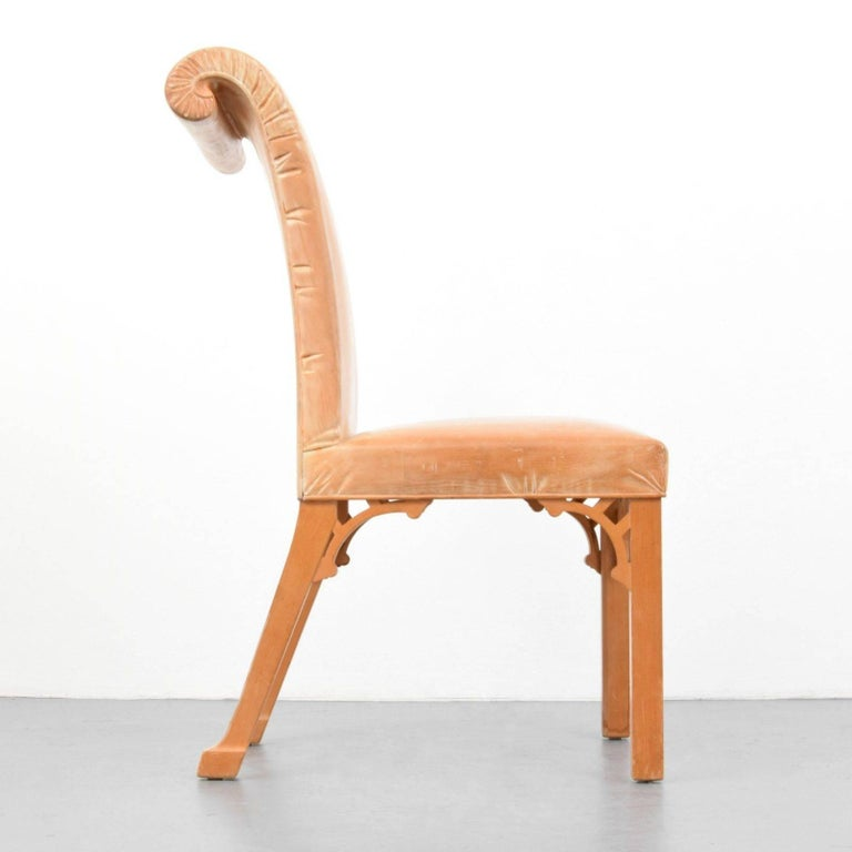 John Dickinson, Hand-Carved Chair, USA, 1969 In Excellent Condition For Sale In New York, NY