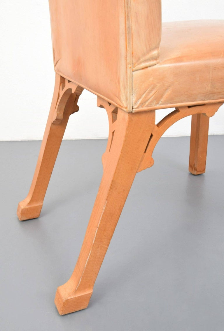 John Dickinson, Hand-Carved Chair, USA, 1969 For Sale 2