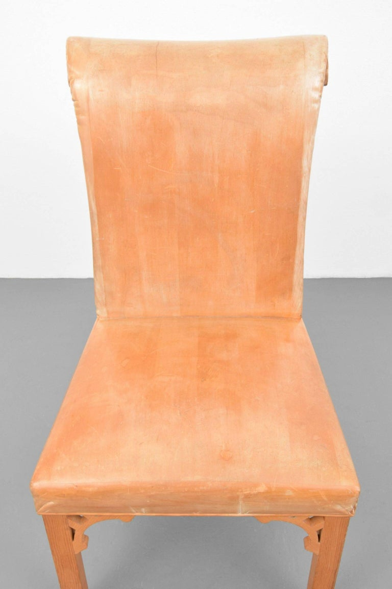 John Dickinson, Hand-Carved Chair, USA, 1969 For Sale 3
