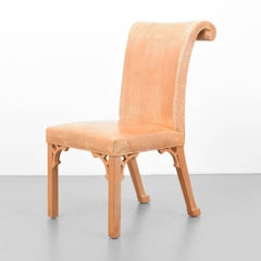 John Dickinson, Hand-Carved Chair, USA, 1969