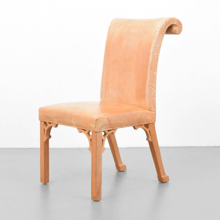 John Dickinson, Hand-Carved Chair, USA, 1969 For Sale
