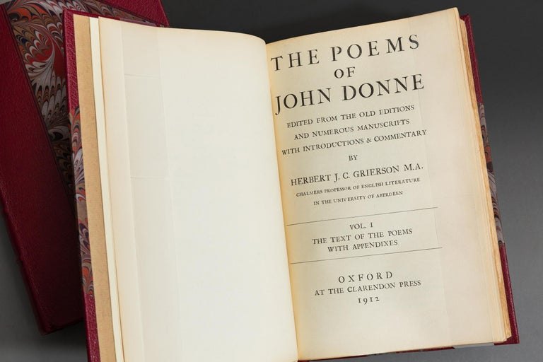 John Donne, The Poems In Good Condition For Sale In New York, NY