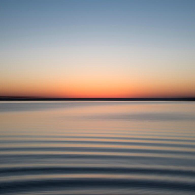 John Duckworth Color Photograph - Stono River 81927, Seascape Fine Art Photography, Framed in Plexiglass, Signed