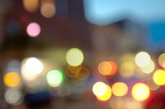 Urban Horizontal 75674, Fine Art Photography, Framed in Plexiglass, Signed