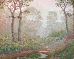 """Texas Haze""  One of Jenkins finest.  Large painting"