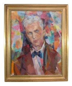 Snynchromist self portrait by John Emmett Gerrity