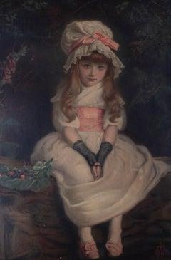 After John Everett Millais (1829-1896) - Chromolithograph, Cherry Ripe
