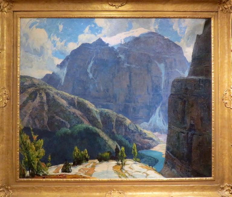 John F. Carlson Landscape Painting - Mountain Labyrinths